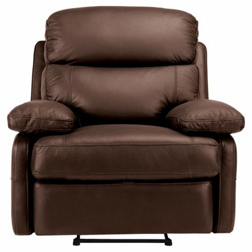 Buy Cordova Leather Recliner Chair Chocolate from our ...