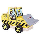 Bigjigs Toys Stacking Bulldozer