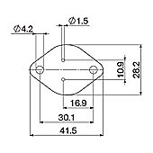 Semiconductor TO3 Insulating Washer