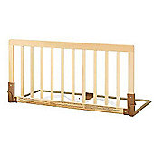 BabyDan Double Sided Wooden Bed Guard Nature