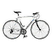 59cm Viking Palermo 16 Speed STI 700c Wheel Gents, White