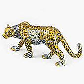 India Jane Leopard Jewelled Box