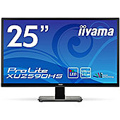 iiyama ProLite XU2590HS-25 IPS Full HD 16:9 Monitor 5ms Speakers HDMI VGA DVI