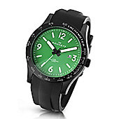 Kennett Altitude Mens Rubber Date Watch WALTGNWHPBK