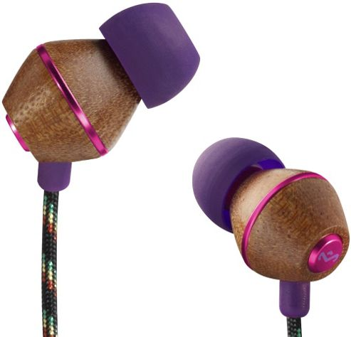 HOUSE OF MARLEY PEOPLE GET READY EARPHONES (ROYAL)