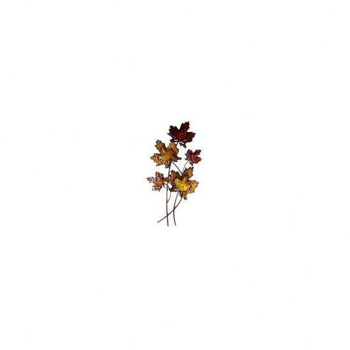 Novus Imports Autumn Leaf Metal Wall Art