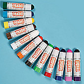 Fabric Paint Sticks (Pack of 12 )