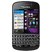 SIM Free BlackBerry® Q10 Black