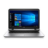 "HP 470 17.3"" Intel Core i7 Windows 7 Pro 8GB RAM 256GB SSD Laptop Silver"