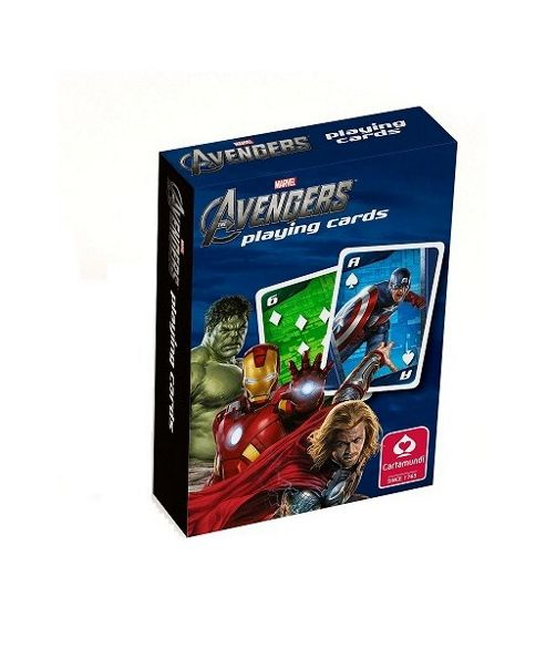 Marvel - Avengers Playing Cards - Cartamundi
