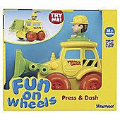 Keenway Press & Dash Vehicles Bulldozer