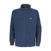 Trespass Mens Bernal Full Zip Fleece Jacket - Navy