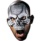 Adult Skull Vinyl Chinless Mask