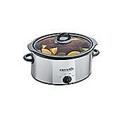 Crockpot Scv400Pss-1Uk Slow Cooker Chrome 3.5L
