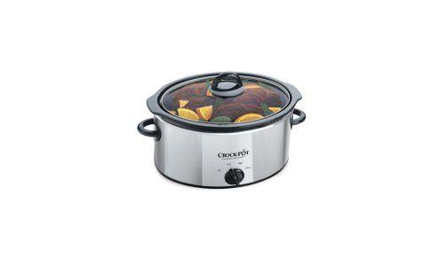 Breville SCV400PSS Crock-Pot 3.5 Litre Stainless Steel Slow Cooker - Silver
