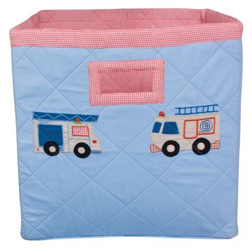 Fire Truck Toy Storage Basket