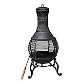 Bentley Garden Large Cast Iron Mesh Chimenea
