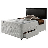 Silentnight Miracoil Comfort Ortho Tufted 4 Drawer Double Divan