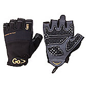 GoFit Diamond Tac Weightlifting Glove Black MEDIUM