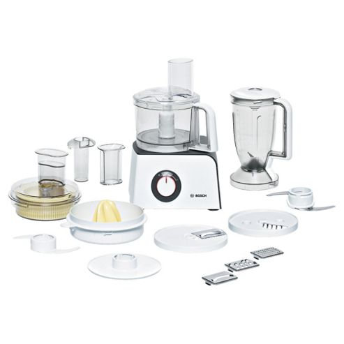 Bosch MCM4100GB Food processor White/Anthracite