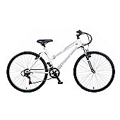 "19"" Reflex Impulse Ladies Front Suspension, 18 Speed, White"