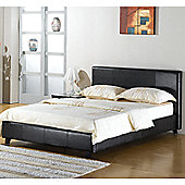Elements Prague Bed - Brown - Double