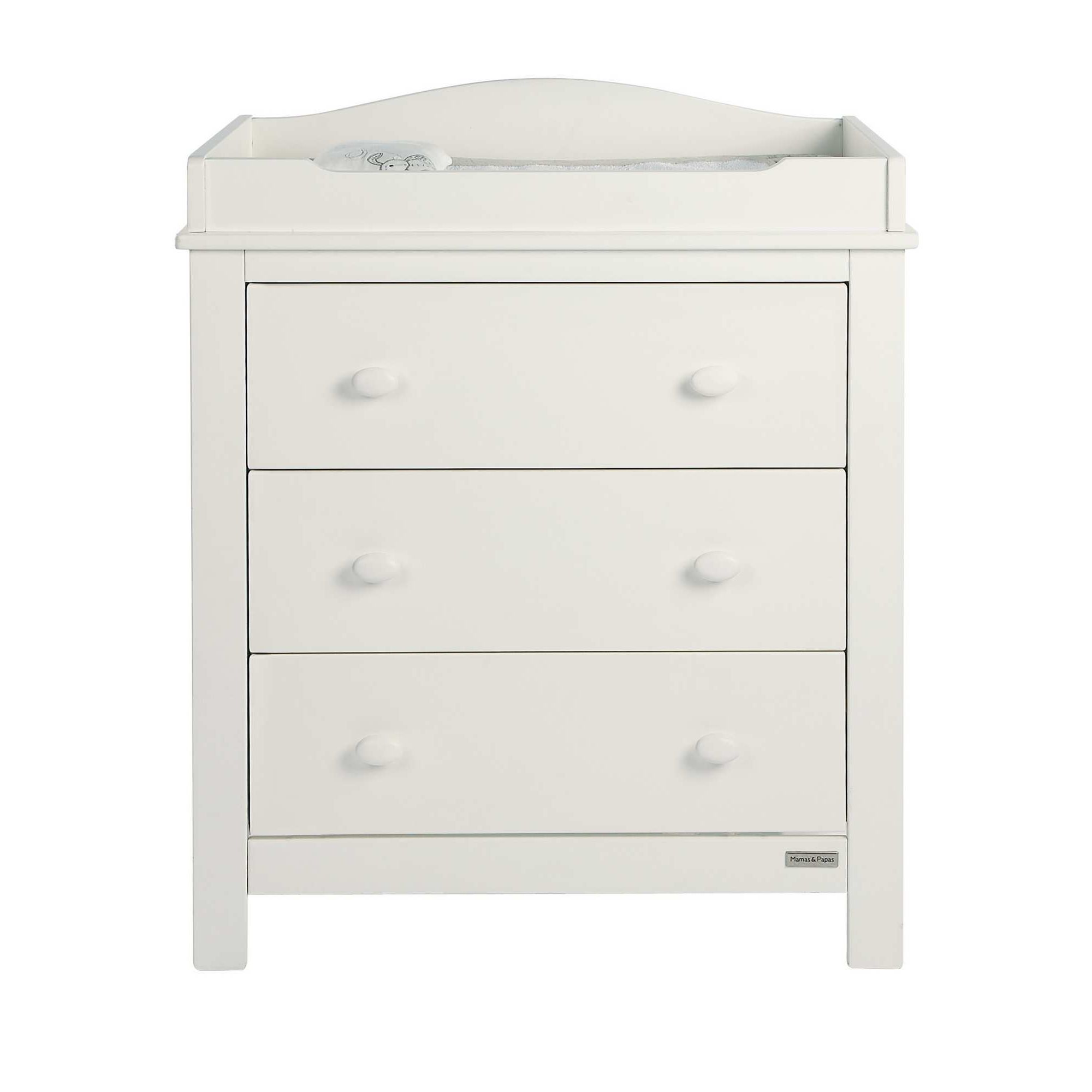 Mamas & Papas - Willow Dresser with changer - White at Tesco Direct