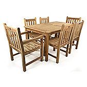 Great Warwick 6 Seater Teak Set - Outdoor/Garden table and Chair set.