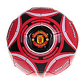Manchester United Star Official Supporter Football Soccer Ball Red - Size 5