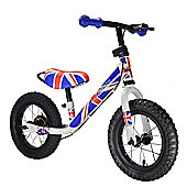 Kiddimoto Union Jack Super Junior Max Metal Balance Bike