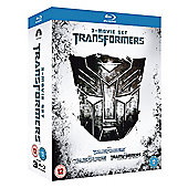 Transformers / Transformers - Revenge Of The Fallen / Transformers - Dark Of The Moon  (Blu-Ray Boxset)