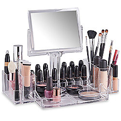 Beautify Clear Acrylic Cosmetic Makeup Organiser