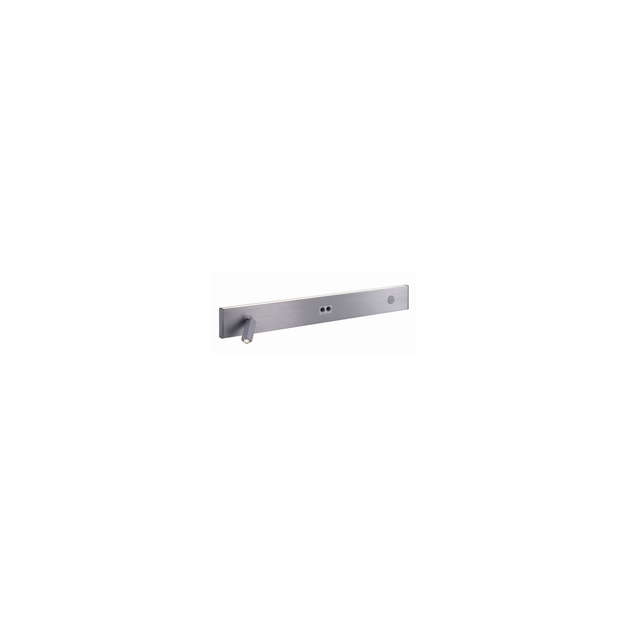 Slv Tidur One Light Wall Lighting In Aluminium Brushed - Warm White