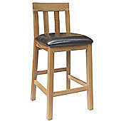 Oakinsen Jacob Bycast Leather Seat Bar / Kitchen Stool