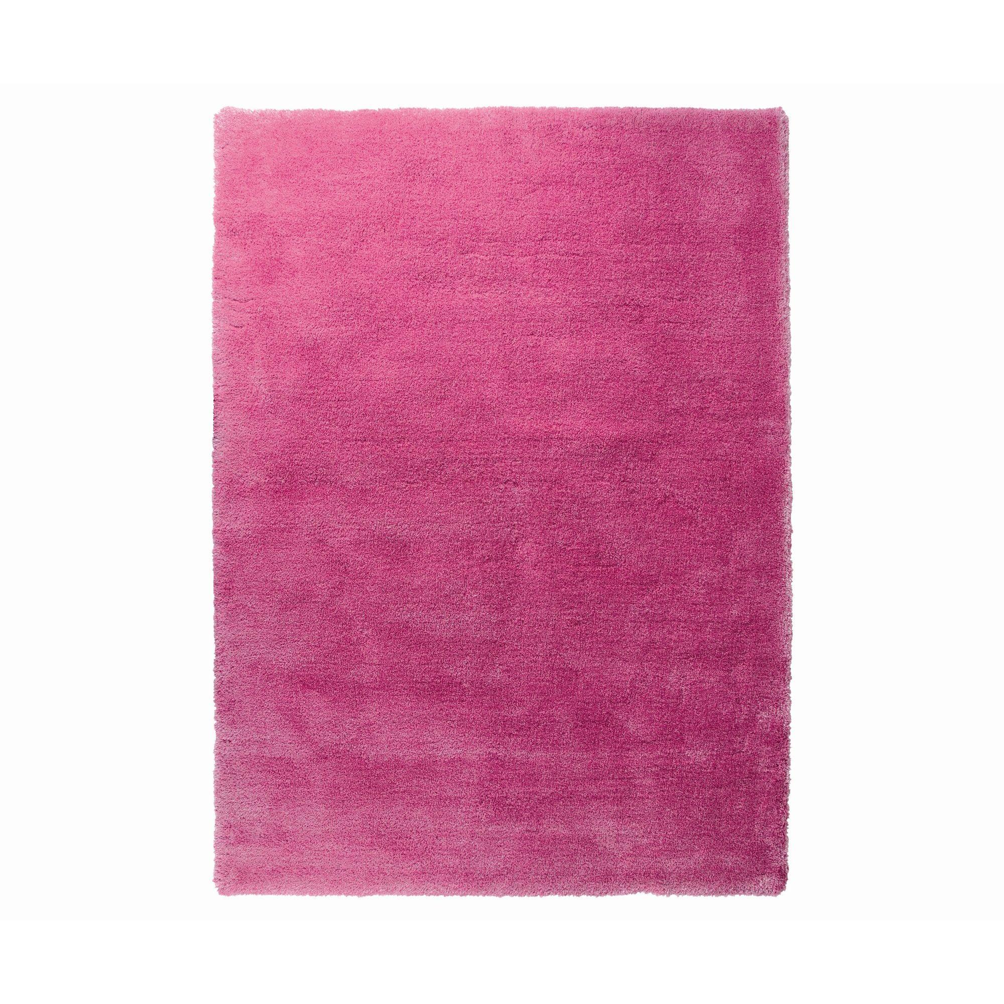 Esprit Soft Glamour Pink Shag Rug 170cm X 240cm