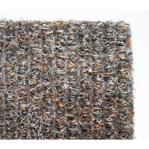 Dandy Stayfast Brown Runner Contemporary Rug - Runner 60cm x 300cm