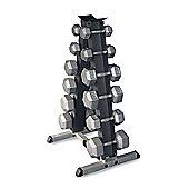 Body-Solid 6 Pair Vertical Dumbbell Rack (Grey)
