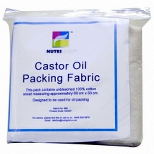 Nutrigold Castor Oil Packing Fabric (1 Cloth)