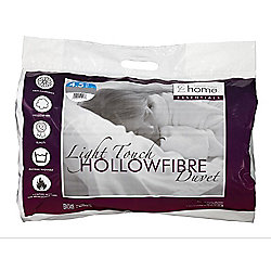 Catherine Lansfield Home Essentials 4.5 Tog Quilt Hollowfibre Quilt - Double