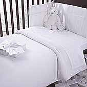 Izziwotnot Premium Gift Luxury Coverlet Bedding Bale (White)