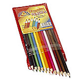 Stationery Colouring Pencils (12pk)