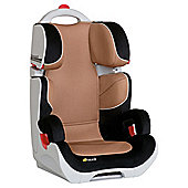 Hauck Bodyguard Group 2-3 Car Seat, Black/Beige