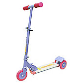 Ozbozz Cosmic Light Scooter With Step On Function Pink