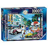 Ravensburger Around the World Vintage Cote D'Azur 1000-Piece Jigsaw Puzzle