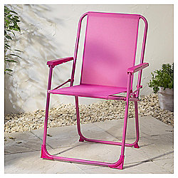 Folding Picnic Chair, Pink
