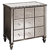 Alterton Furniture Mirrored 9 Drawer Chest