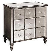 Alterton Furniture Mirrored 9 Drawer Chest