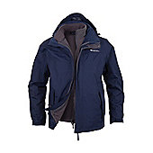 Storm 2 Mens 3 in 1 Waterproof Jacket - Navy - XL