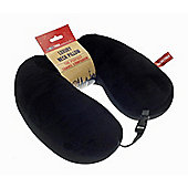 Globetrek International Luxury U Shape Travel Neck Pillow, Black