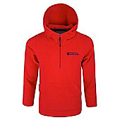 Camber Kids Microfleece Hoodie - Red
